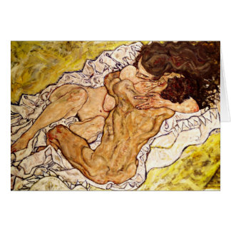 The Embrace, 1917 Card
