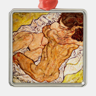 The Embrace, 1917 Christmas Ornament