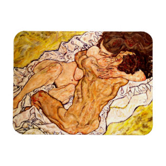 The Embrace, 1917 Rectangular Photo Magnet