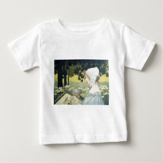 THE EMBROIDERER  LA BRODEUSE TSHIRT