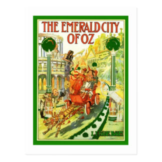 The Emerald City Of Oz Postcard