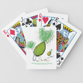 The Emerald Diamond Fab Egg, tony fernandes Bicycle Playing Cards
