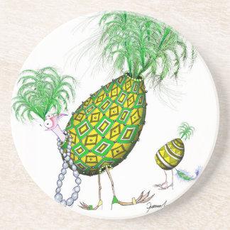 The Emerald Diamond Fab Egg, tony fernandes Drink Coasters