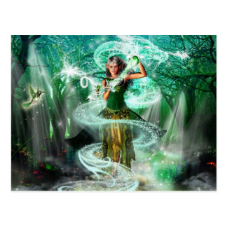 The Emerald Guardian Postcard
