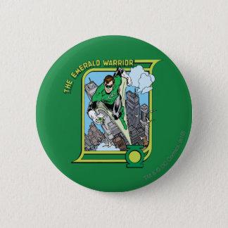 The Emerald Warrior 6 Cm Round Badge