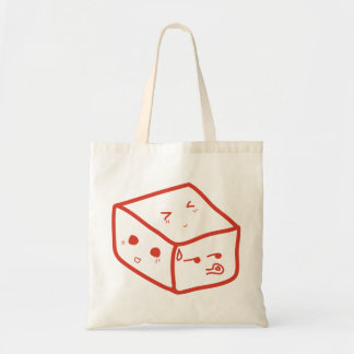 The emotional cube tote bag