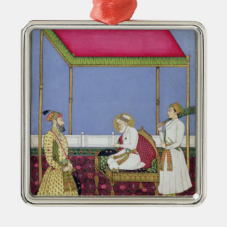 The Emperor Aurangzeb in old age Christmas Ornament