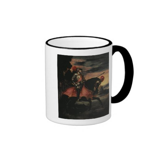 The Emperor Charles V  on Horseback Mugs