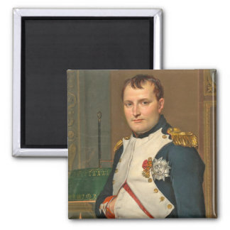 The Emperor Napoleon in His Study at the Tuileries Magnet