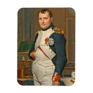 The Emperor Napoleon in His Study at the Tuileries Rectangular Photo Magnet