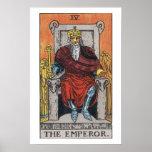 The Emperor Tarot Card Poster