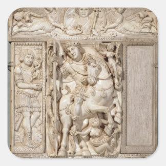 The Emperor Triumphant Square Sticker