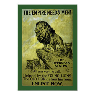 The Empire Needs Men! Poster