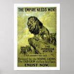 The Empire Needs Men! Poster