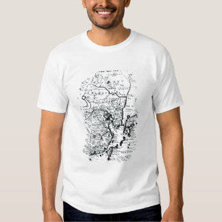 The Empire of China and Island of Japan T Shirt