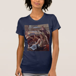 The Empire Of Flora Detail By Poussin Nicolas Tee Shirt
