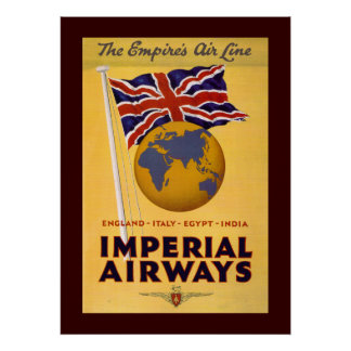 The Empire s Airline Poster