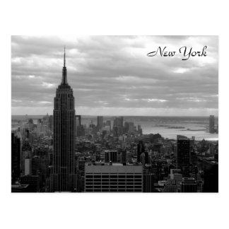 The Empire State (Black & White) Postcard