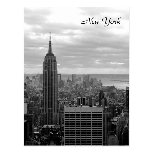 The Empire State Building (Black & White) Postcards