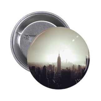 The Empire State Building, NYC 6 Cm Round Badge