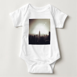 The Empire State Building, NYC Baby Bodysuit