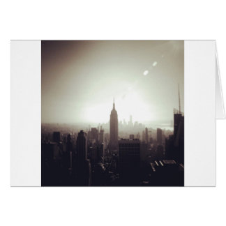 The Empire State Building, NYC Greeting Card