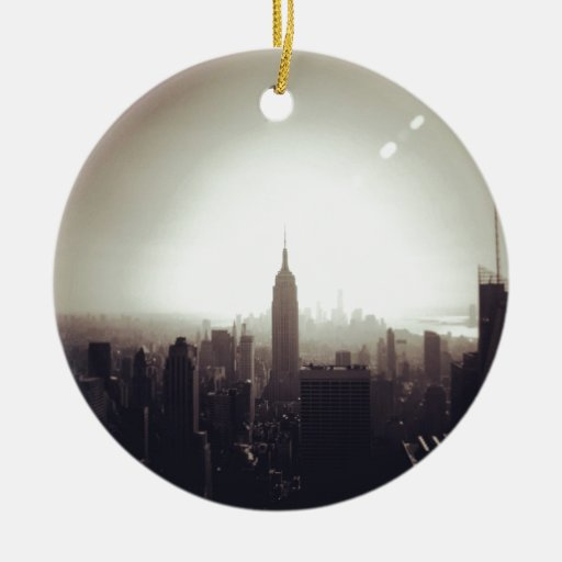 The Empire State Building, NYC Christmas Ornaments