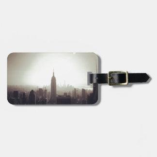 The Empire State Building NYC Etiquetas De Maletas