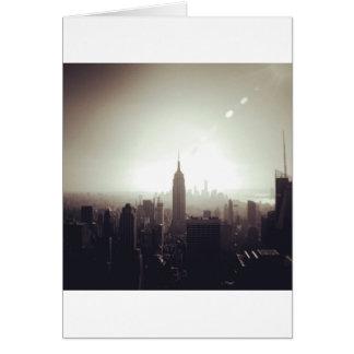 The Empire State Building NYC Felicitacion