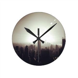 The Empire State Building NYC Reloj De Pared