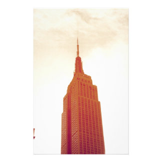 The Empire State Building NYC Stationery
