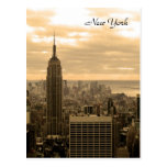 The Empire State Building (Sepia) Post Cards