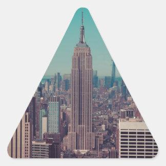 The Empire State Building Triangle Sticker
