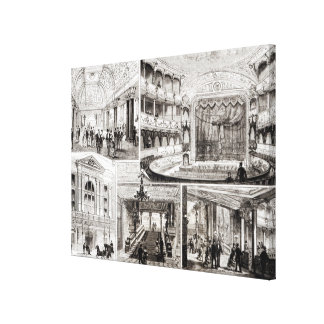 The Empire Theatre, Leicester Square Canvas Print