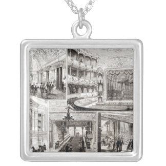 The Empire Theatre, Leicester Square Silver Plated Necklace