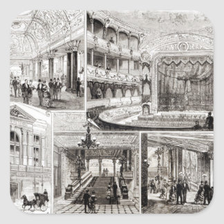The Empire Theatre, Leicester Square Square Sticker