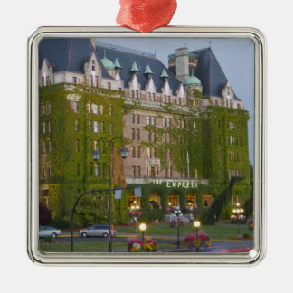 The Empress Hotel at the inner harbour in Christmas Ornament
