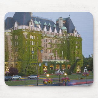 The Empress Hotel at the inner harbour in Mouse Mat