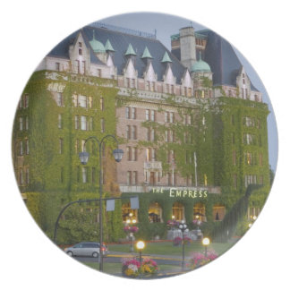 The Empress Hotel at the inner harbour in Plate