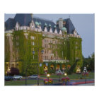 The Empress Hotel at the inner harbour in Poster