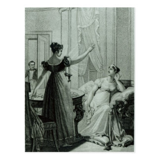 The Empress Josephine reveals the prophesy Postcard