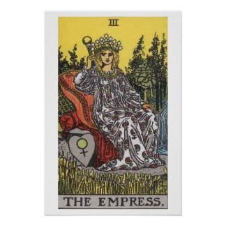 The Empress Tarot Card Poster