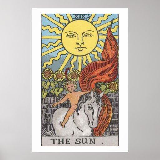 The Empress Tarot Card Poster Bold Brilliant Color
