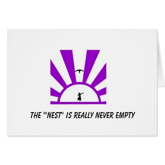 The Empty Nest Card