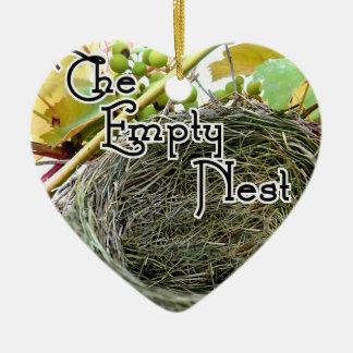 The Empty Nest Ceramic Heart Decoration