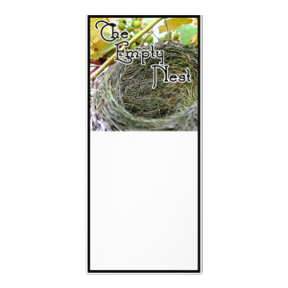 The Empty Nest Full Color Rack Card