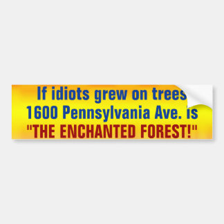 The Enchanted Forest Bumper Sticker