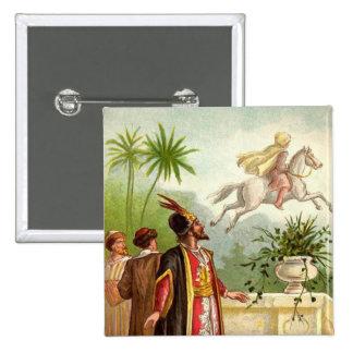 The Enchanted Horse Scheherazade s Tale Buttons