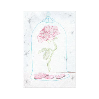 The Enchanted Rose Canvas Print