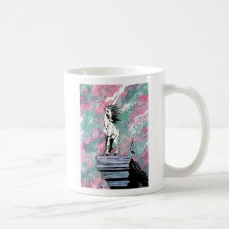 The Enchanted Unicorn Basic White Mug